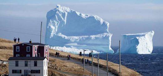 Aparición de un Iceberg en Canadá |Foto: Reuters
