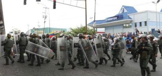 Reportan detención de estudiantes en Guarenas este #24A | Foto: Twitter