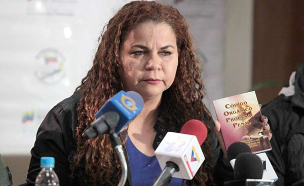 Iris Varela, ministra del Servicio Penitenciario  Foto: La Patilla