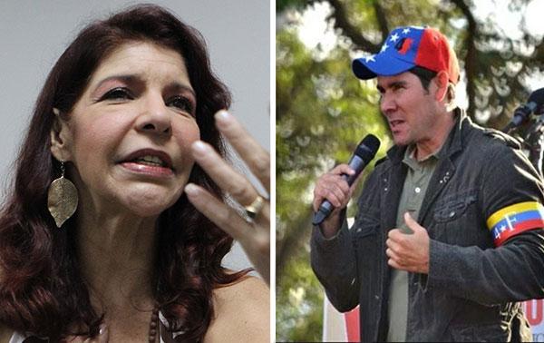 Amanda Gutiérrez contó por qué Winston Vallenilla se arrodilló al Gobierno | Composición