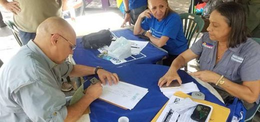 "Jesús ""Chúo"" Torrealba validó Un Nuevo Tiempo |Foto: Nota de prensa"