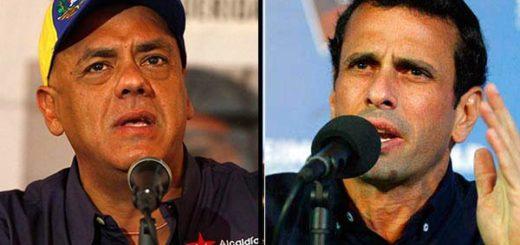 Jorge Rodríguez / Henrique Capriles | Composición Notitotal