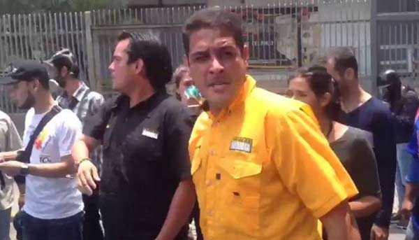 Diputado José Manuel Olivares |Captura de video