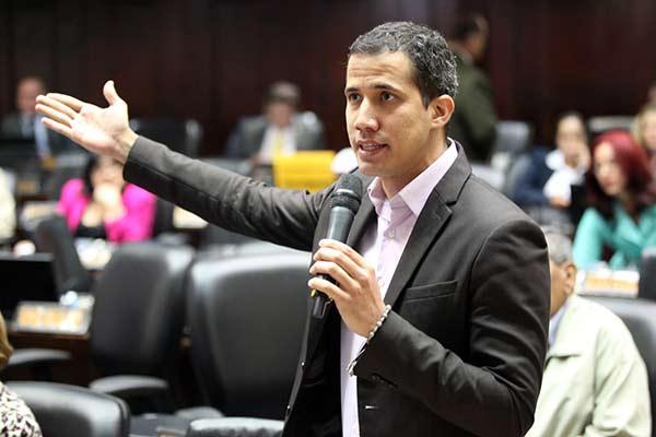 Diputado Juan Guaidó  Foto: Asamblea Nacional