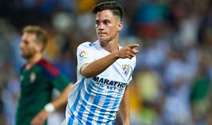 Juanpi Añor, jugador del Málaga| Foto: Meridiano