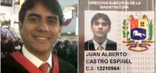 Juez Décimo Séptimo de Caracas, Juan Alberto Espinel |Foto: DolarToday