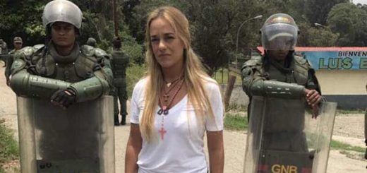 Lilian Tintori denundia aislamiento de Leopoldo López |Foto:  Twitter