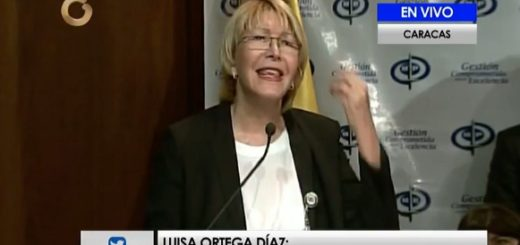 Luisa Ortega Díaz se pronunció ante los eventos violentos registrados en el país |Foto: Captura de video