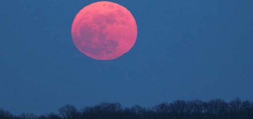 La luna rosa se verá este martes |Foto referencial