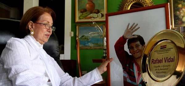 Flor Marina Castro, madre del deportistas Rafael Vidal |Foto: Ovación Deporte