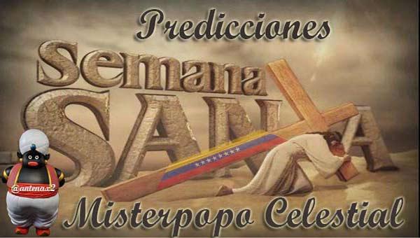 Misterpopo en Semana Santa |Foto: Diario Contraste