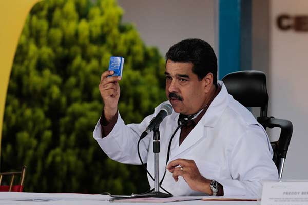 Nicolás Maduro durante cadena nacional 20A |Foto: Prensa presidencial