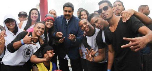 Nicolás Maduro baila rap |Foto: Prensa presidencial