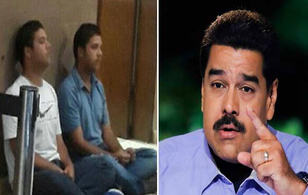 Fiscalía no autorizó a Maduro a divulgar videos del los hermanos Sánchez   Composición