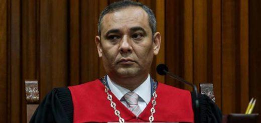 Maikel Moreno, presidente del Tribunal Supremo de Justicia |Foto cortesía