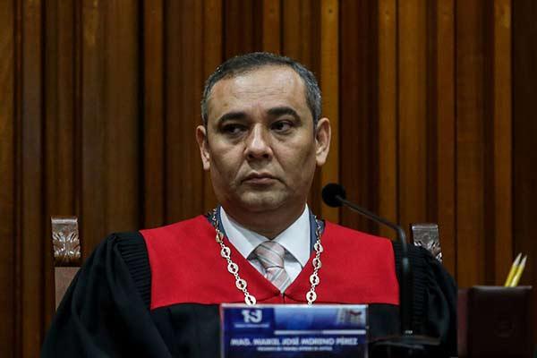 Maikel Moreno, presidente del Tribunal Supremo de Justicia (TSJ) |Foto cortesía