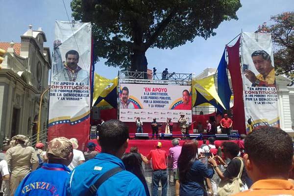 Así es como el Gobierno obliga a sus trabajadores a marchar este miércoles |Foto: Efecto Cocuyo