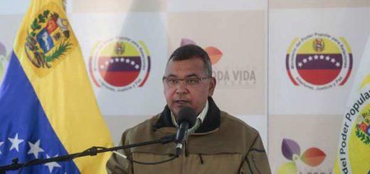 Ministro de Interior y Justicia, Néstor Luis Reverol se pronunció sobre los disturbios en El Valle |Foto cortesía