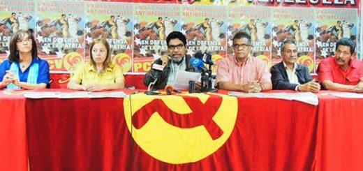 Partido Comunista de Venezuela  (PCV) |Foto archivo