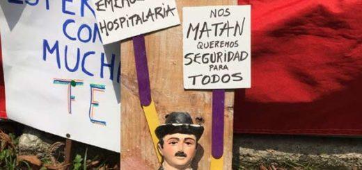 Así se expresan los venezolanos en El Plantón  Foto: Patricia Orozco