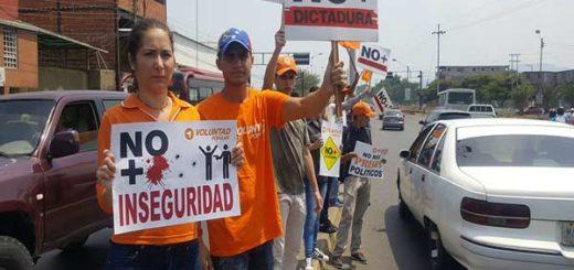 Protesta del 01 abril, manfestantes rechazaron sentencias del TSJ |Foto: Twitter