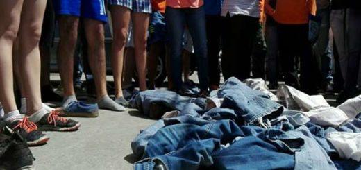 Protesta en Carabobo |Foto: @fcarolinahr