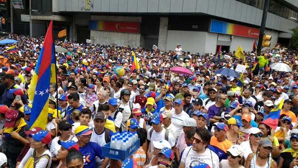 Oposición convocó nueva movilización nacional para este 13 de Abril | Foto: Twitter