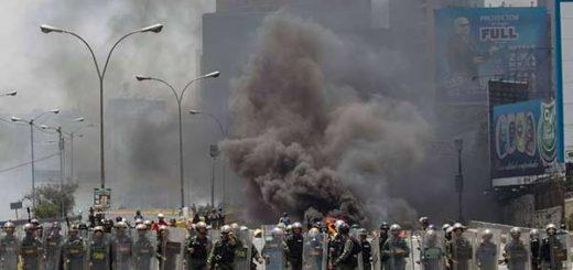 Protestas en Venezuela cumplen un mes |Foto: EFE