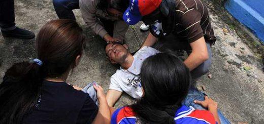 Los heridos en las protestas de San Cristóbal | Foto: Reuters