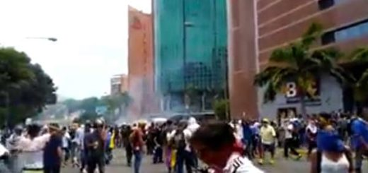 Represión en El Rosal |Captura de video
