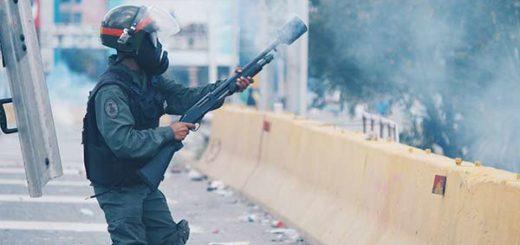 Represión en la Marcha del Silencio #22A |Foto: La Patilla