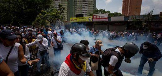 Represión en la marcha del #19A |Foto: EFE