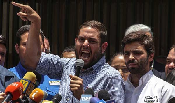 Diputado opositor, Juan Requesens   Foto: Cortesía