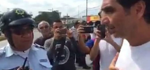 Richard Mardo, dirigente opositor en Aragua |Foto: Captura de video