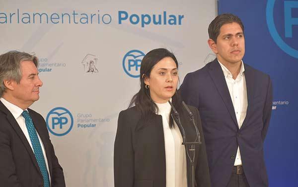 Rosaura Valentini, esposa del preso político Yon Goicochea |Foto: Nota de prensa