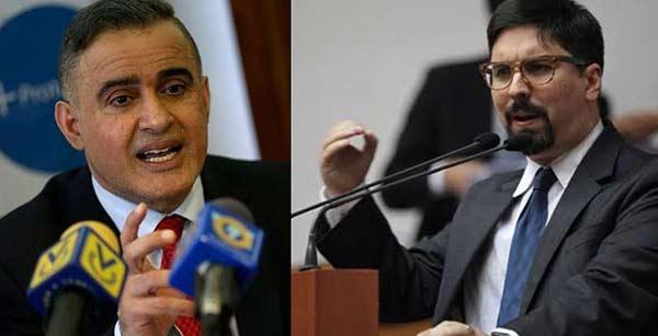 Vicepresidente de la AN, Freddy Guevara le responde al Defensor del Pueblo, Tarek William Saab  Composición Notitotal