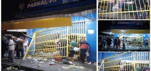 Conato de saqueo en Barquisimeto  Foto: @Imag3n