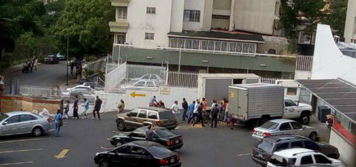 Reportan intentos saqueos en la urbanización de La Urbina en Caracas | Foto: Twitter
