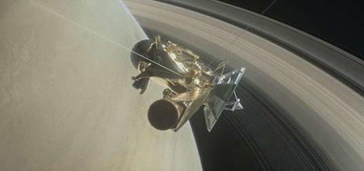Cassini se adentró en los anillos de Saturno |Foto: Nasa