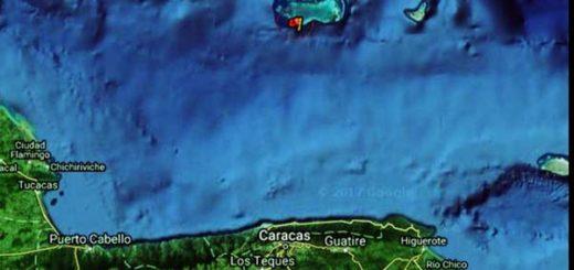 Sismo en Los Roques fue de 4. 3 de magnitud| Foto: Protección Civil