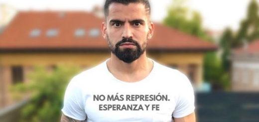 Tomás Rincón pide un cese a la represión en Venezuela | Créditos: Instagram