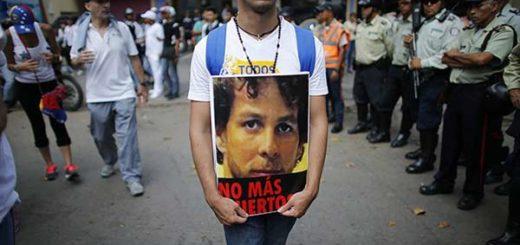 Tony Canelón, víctima de las protestas en Lara 2017  Foto: El Impulso