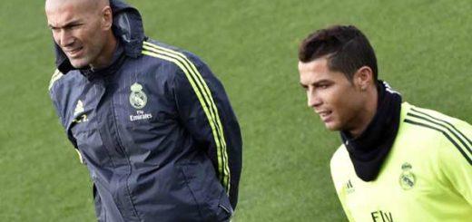 Zinedine Zidane defiende a Cristiano Ronaldo |Foto: Bleacher Report