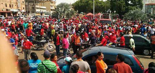 Marcha oficialista en Apure este 19 de abril | Foto: Twitter