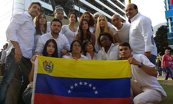 Artistas venezolanos | Foto: EFE