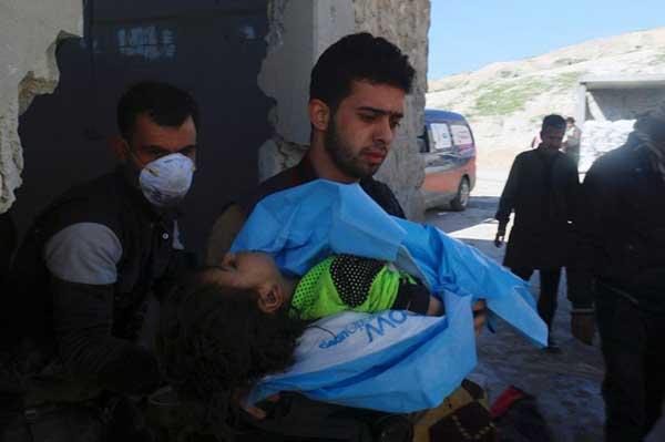Al menos 58 muertos por un ataque químico en Siria | Foto: Reuters