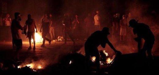 Protesta en Barquisimeto, Lara | Foto: @VENEZOLANODECEN