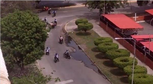Detenidos por la policía en Base Aragua / Foto: Captura de video