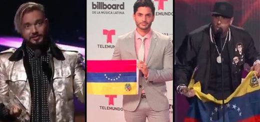 Artistas en los Latin Billboard 2017 | Composición Notitotal