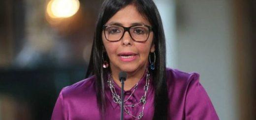Delcy Rodríguez | Foto: Twitter Cancillería de Venezuela